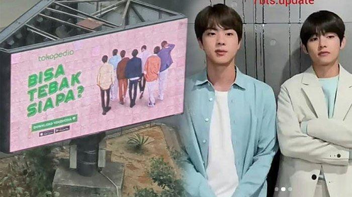 Heboh Billboard Diduga Foto BTS Beredar, Army Kegirangan Tunggu Rap Monster DKK ke Indonesia?