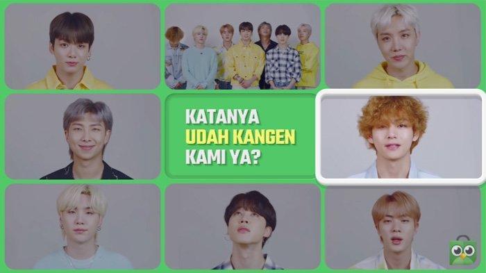 BTS menyapa Army Indonesia untuk penampilannya 17 Agustus 2021