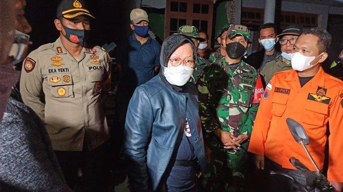 Dari NTT, Bu Risma Meluncur ke Malang & Lumajang Temui Pengungsi Gempa Terjunkan 700 Personil Tagana