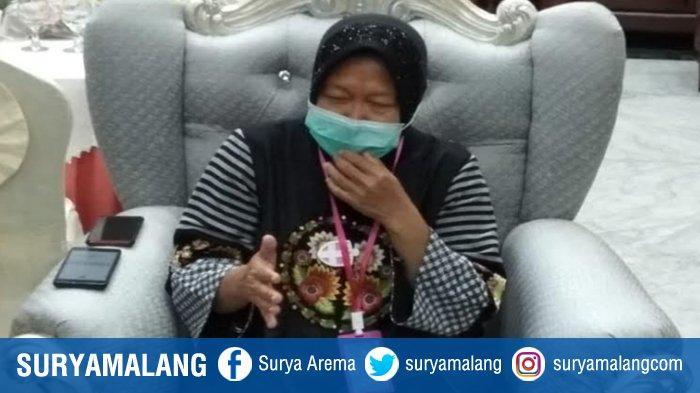 Respon  Wali Kota Surabaya Risma Setelah Presiden Jokowi Minta Jatim Turunkan Kasus Covid-19