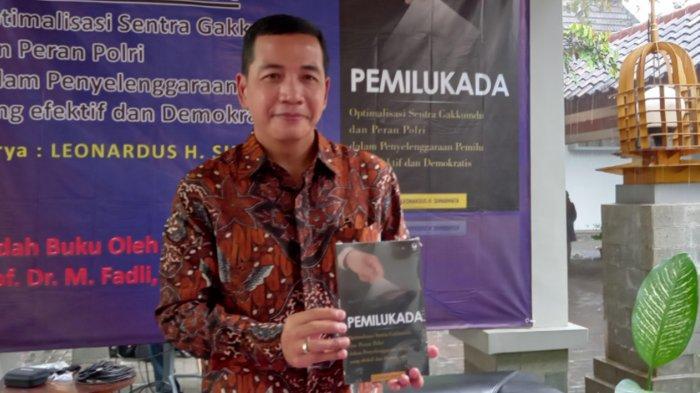 Kapolresta Malang Kota Kombes Pol Leonardus Simarmarta Buat Buku Sebelum Pindah Tugas ke Bareskrim