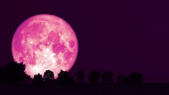 Bulan Purnama Stroberi Muncul pada 6 Juni 2020 Dini Hari, Jangan Sampai Terlewatkan! Ini Maknanya