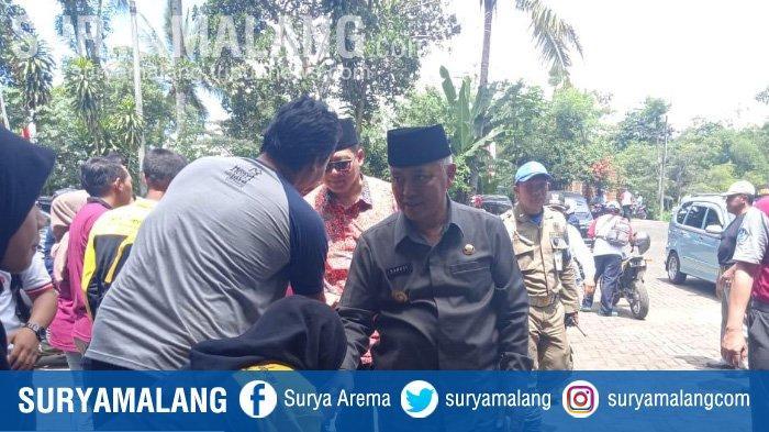 Bupati Malang Sanusi Tak Tahu Kejelasan Nasib Sudarman Wakil Bupati Malang Terpilih