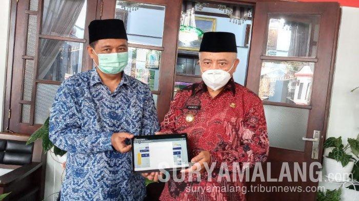 Bupati Malang, Sanusi Awali Lapor SPT di Awal Tahun
