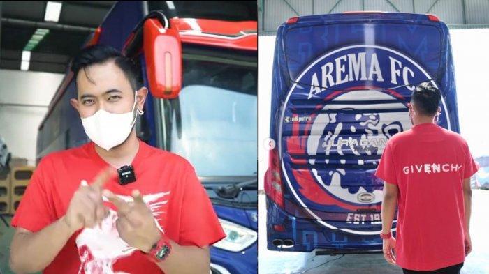Penjelasan Bos Juragan 99 Tentang Bus Baru Arema FC : Tidak Semua Klub Bola Memiliki Bus Sendiri