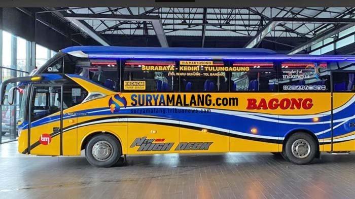 Bus Bagong Luncurkan Rute Baru Surabaya-Tulungagung, Tarif Rp 25,000 Serasa Naik 'Bus Eksekutif'