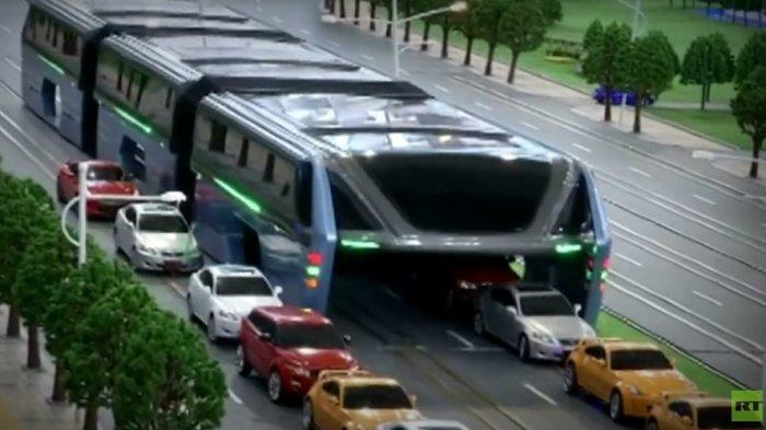 Masih Ingat Bus Canggih China yang Bikin Heboh ini? Nasibnya Kini Memprihatinkan