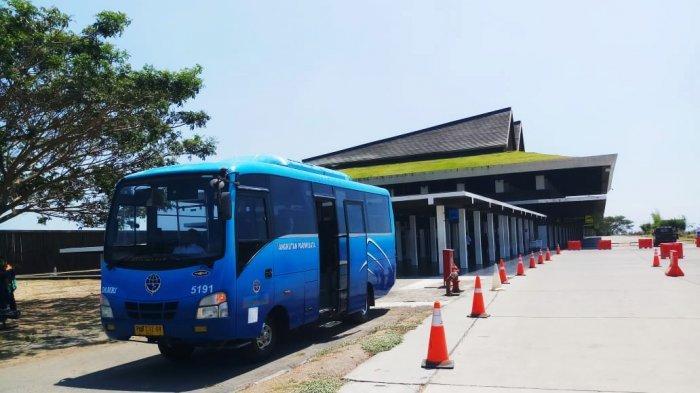 Dua Bus Damri Mulai Layani Penumpang Dari dan Ke Bandara Banyuwangi