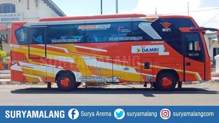 Tarif Baru Bus Damri Trayek Jember-Bondowoso-Ijen 2021, Bondowoso-Paltuding Jauh Dekat Rp 30 Ribu