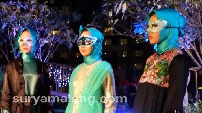 Busana Muslim Ocean Masquerade Cocok Untul Acara Semi Formal Surya Malang