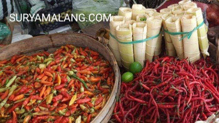 Harga Cabai Rawit Merah Capai Rp 84.000/Kg di Pasar Tradisional Trenggalek