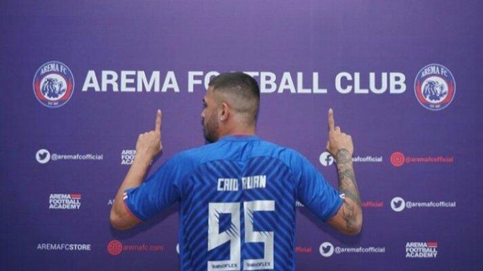 Kemungkinan Arema FC Hanya Pakai 2 Pemain Asing di Piala Menpora 2021
