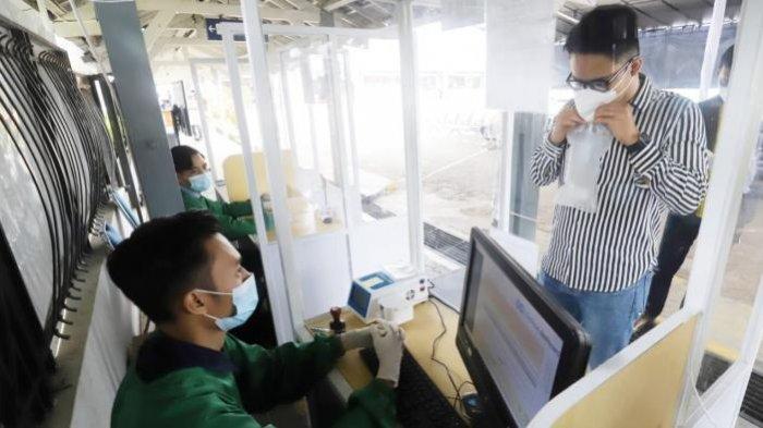 Tujuh Stasiun KA Wilayah Daop 7 Madiun Sediakan Layanan Pemeriksaan GeNose Seharga Rp 30 Ribu