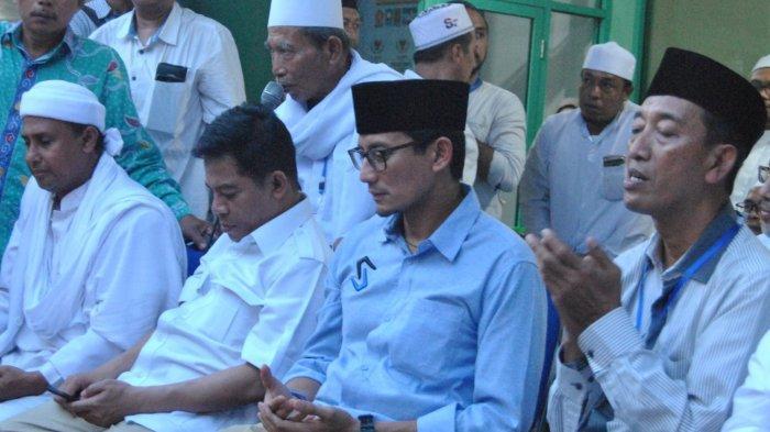 Kalah di Jatim, Sandiaga Uno Bilang, 'Tugas Kami adalah Berkerja Keras'