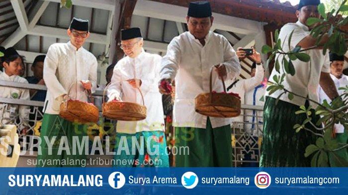 Kunjungi Ponpes Tebuireng Jombang, Prabowo Ingatkan Pentingnya Resolusi Jihad