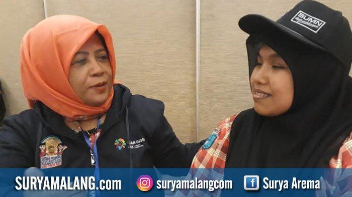 Siswi Tuna Netra dari Blitar Wakili Jatim dalam Program Siswa Mengenal Nusantara di Sumsel
