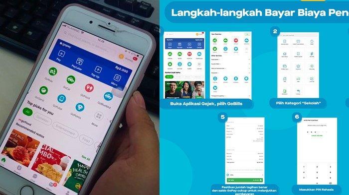Cara Bayar SPP Sekolah Lewat GoPay di Aplikasi Gojek, Mudah dan Praktis, Ikuti 6 Panduan Berikut