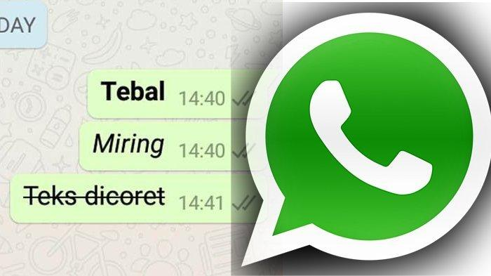 7 Cara Mudah Membuat Tulisan Unik di WhatsApp, Ada Teks Berwarna, Tebal, Miring hingga Dicoret