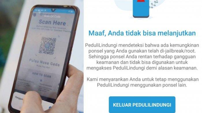 Aplikasi PeduliLindungi Sering Error Saat Check In Masuk Mall? Jangan Panik Begini Cara Mengatasinya