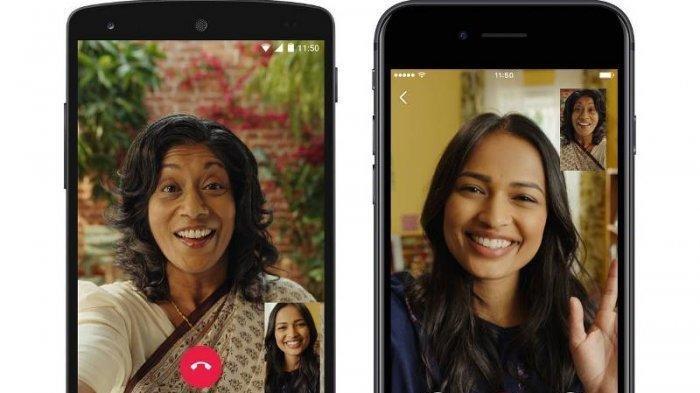 UPDATE Whatsapp - Cara Menggunakan Fitur Terbaru agar Bisa Video Call 8 Orang dalam Satu Panggilan
