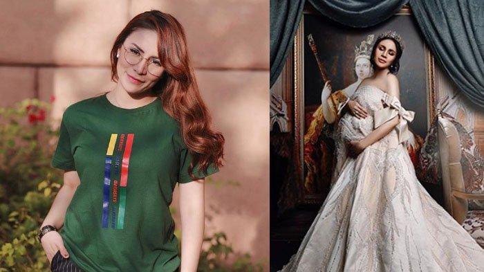 Cara Mewah Momo Geisha Lakukan Photoshoot Sebelum Melahirkan, Intip 3 Gaya Elegan Bak Putri Kerajaan