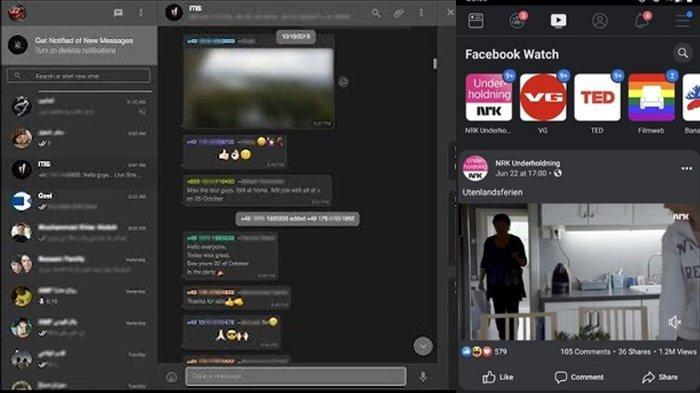Cara Mudah Ubah Tampilan WhatsApp & Facebook Versi Web Jadi Hitam, Perlu Trik Aktifkan Dark Mode