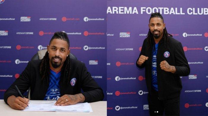 Striker Asing Arema FC Carlos Fortes Ternyata Pernah Masuk Skuat Timnas Portugal, Rekan Rui Silva