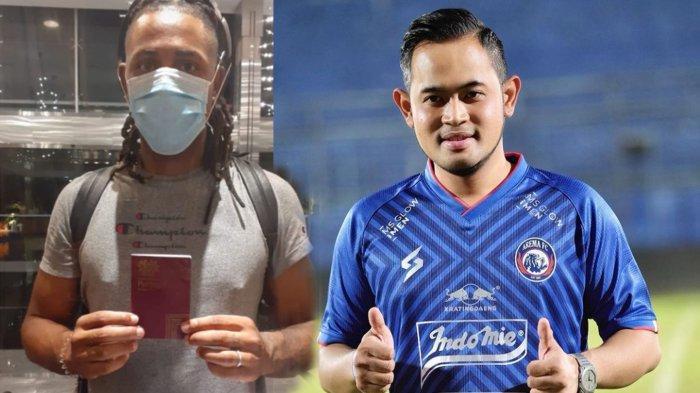 Fix Carlos Fortes Akan Diperkenalkan Sebagai Pemain Asing Baru Arema FC oleh Bos Juragan 99