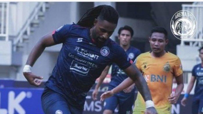 Momen Penting Arema FC Vs Bhayangkara FC di Babak Pertama Liga 1 2021, Skor Masih Imbang 0-0