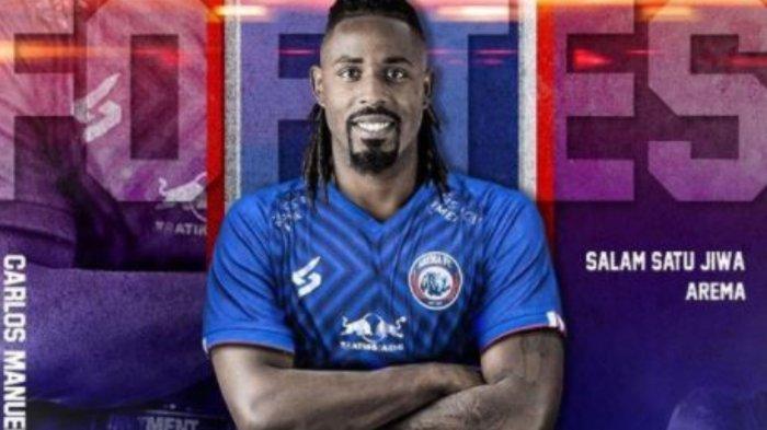 Carlos Fortes resmi bergabung dengan Arema FC