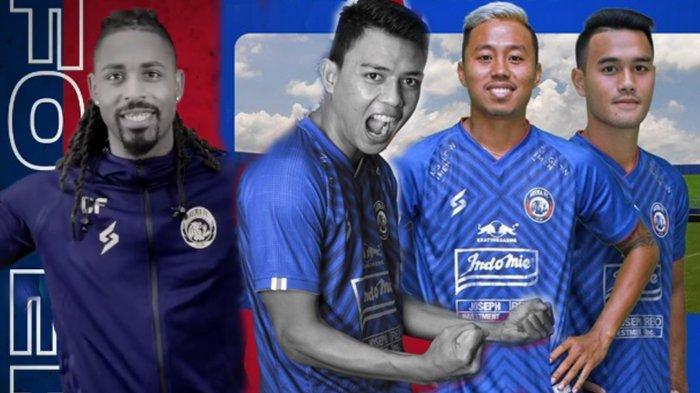 Adu Tajam Carlos Fortes dengan Para Striker Timnas Indonesia di Arema FC, Ini Kata Si Predator