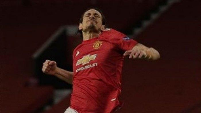 Skor Liga Europa Manchester United Vs Granada 2-0, Gol Diukir Cavani & Bunuh Diri di Penghujung Laga