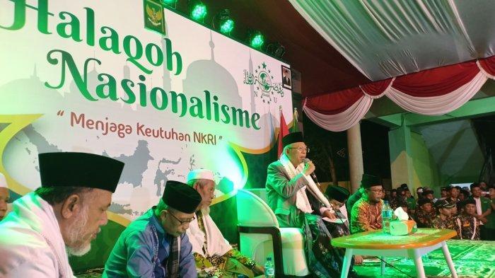 Datang Ke Madiun, Cawapres KH Ma'ruf Amin Kembali Bercerita Alasannya Mau Dampingi Jokowi
