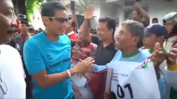 Disambut Teriakan Jokowi Di Bojonegoro, Sandiaga Uno: Yang Penting Tetap Damai