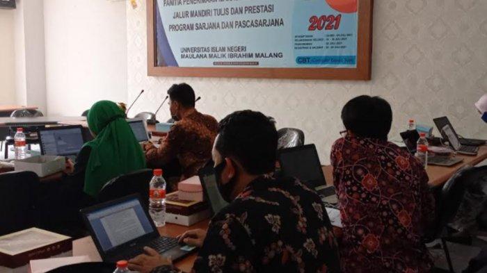CBT Jalur Mandiri UIN Maliki Malang 2021 Dimulai, Kuota 1300, yang Ikut Tes 5274 Orang