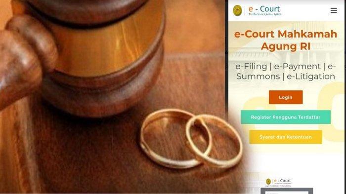 Sidang Cerai di Kota Malang Kini Bisa Secara Online, Gugat Cerai Cukup Lewat Email Melalui e-Court