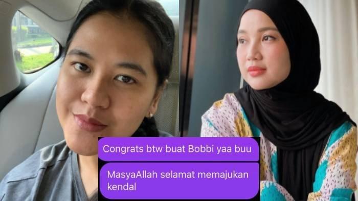 Reaksi Kahiyang Ayu saat Chacha Frederica Salah Menulis Selamat untuk Bobby Jadi Wali Kota Kendal