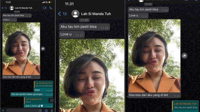Chat WA Amanda Manopo dan Glenca Chysara Ikatan Cinta