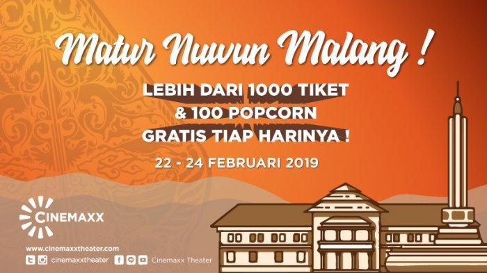 Cinemaxx Sediakan Hadiah Untuk Penonton Setia Di Kota Malang, Wujud Terima Kasih Pada Masyarakat