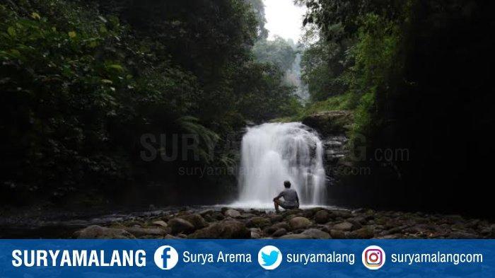 Coban Kricik di Jabung Kabupaten Malang, Sensasi Menerjang Jalanan Curam dan Tebing Licin Hutan
