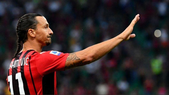 AC MilanTundukkan Lazio, Zlatan Ibrahimovic Cetak Gol di Laga Comebacknya