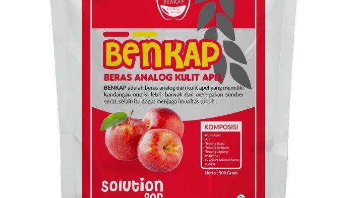 Mahasiswa FTP UB Ajarkan Pembuatan Beras Analog Dari Limbah Kulit Apel