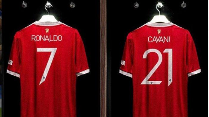 Kisah di Balik Nomor Punggung 7 Manchester United Diserahkan Edinson Cavani Bagi Cristiano Ronaldo