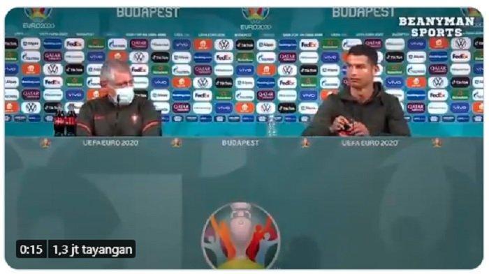 Coca Cola Rugi Rp 57,6 Triliun Gara-Gara Botolnya Digeser Cristiano Ronaldo, Sahamnya Anjlok
