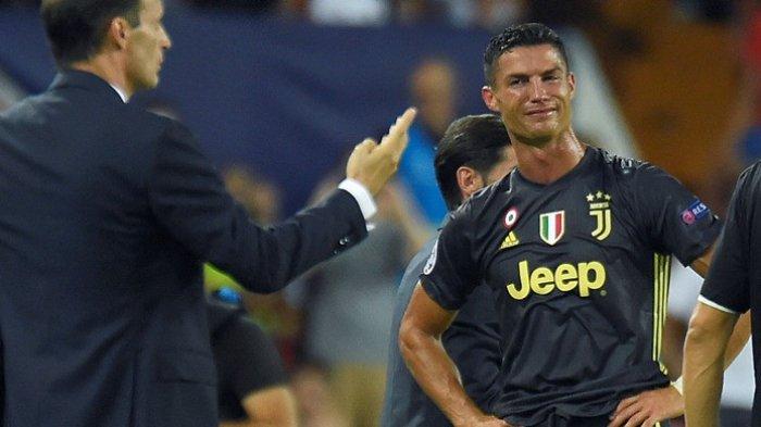 Cristiano Ronaldo Dikartu Merah, Ini Catatan 11 Kartu Merahnya karena Diving Hingga Menyerang Brutal