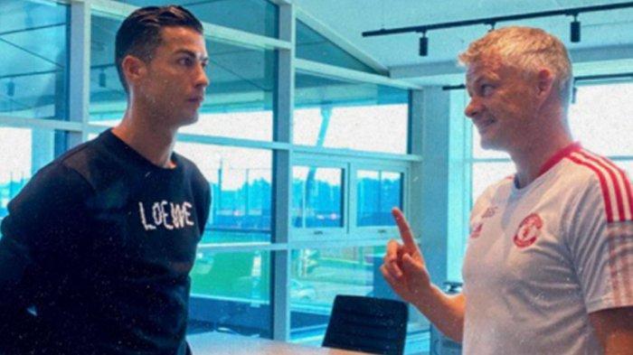 Cristiano Ronaldo Jalani Latihan Perdana Bersama Manchester United, Debutnya Masih Diragukan