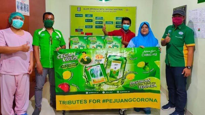 Adem Sari Ching Ku Berikan Bantuan bagi Pejuang Corona di Malang Raya