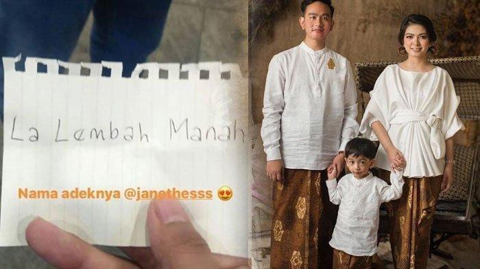 Misteri Kata La di Nama La Lembah Manah Cucu Ketiga Presiden Jokowi, Arti dalam Bahasa Arab Disorot