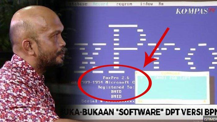Detik-detik Tim Hukum BPN Prabowo-Sandi Pakai Software FoxPro 2.6 untuk Analisis Data DPT Nasional