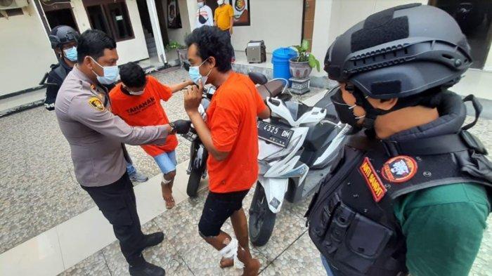 2 Pelaku Curanmor Sedang Beraksi di Kampus Tepergok Polisi, Kaki Ditembak Karena Berusaha Kabur